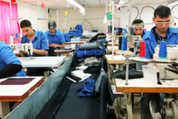 Refugees Voice in Textile Sector